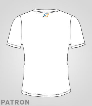 Patron T-Shirt femme verso - Team