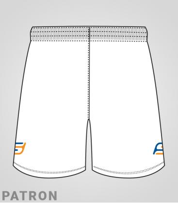 Patron short Basket-ball homme verso - Long-Short