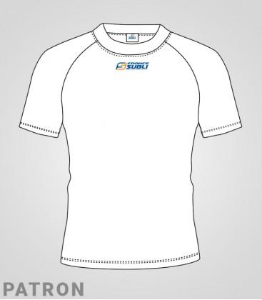 Patron maillot Athlétisme homme recto - T-Shirt classique Running compet