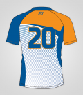 Maillot Rugby homme dos - Initiation