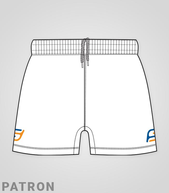 Taille Coupe Cordon Handball Elastique Short Femme Personnalisé UqVSGzMp