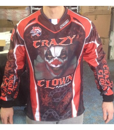 Paint-ball Jersey Pro Crazy_Clown Devant