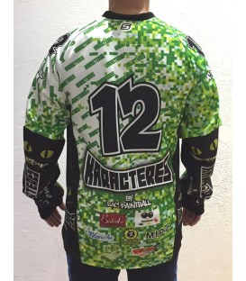 Paint-ball Jersey Pro Renforcé Devant