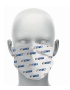 Masque Tissus personnalisés