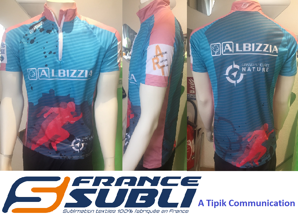 Maillots Running Trail sublimation