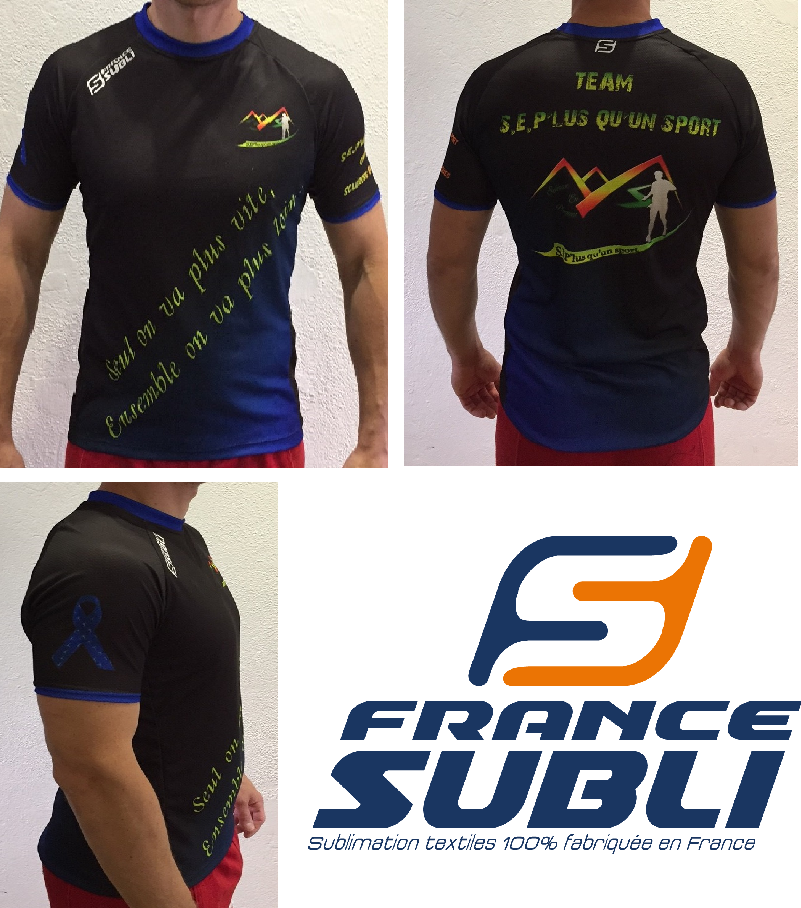 France subli Réalise 50 Maillots Running Dry Clim