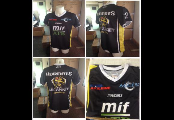 Francesubli équipe les Hornets du Cannet en sur-maillots