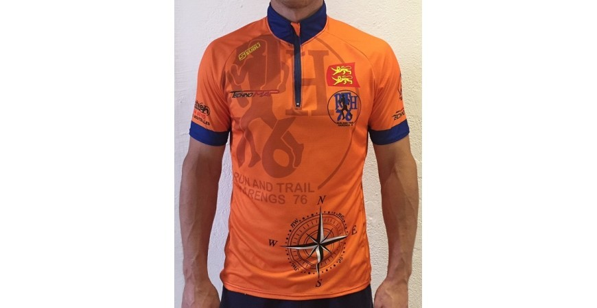 Francesubli fournisseurs maillots des Run and Trail Harengs 76